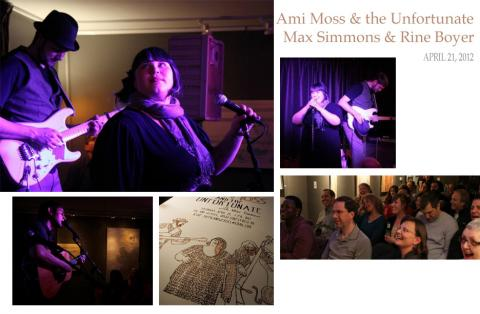 Ami Moss & the Unfortunate at the PIg & Weasel