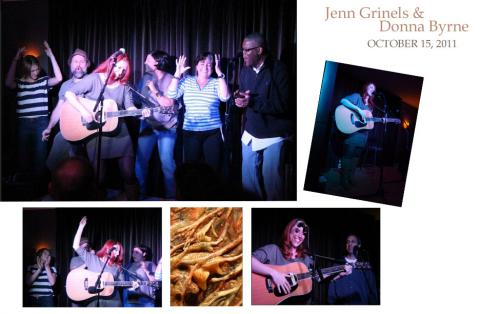 Jenn Grinels and Donna Byrne at the Pig & Weasel